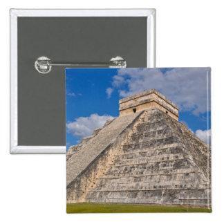 Chichen Itza Ruins in Mexico Pinback Button