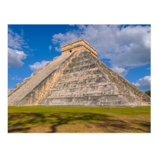 Chichen Itza Ruins in Mexico Postcard