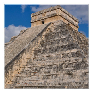 Chichen Itza Ruins in Mexico Poster