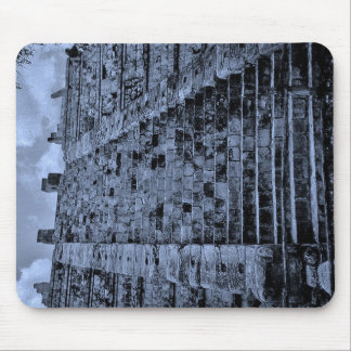 Chichen Itza Staircase Mouse Pad