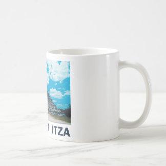 Chichen Itza Taza Básica Blanca