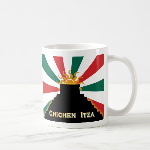Chichen Itza Tazas De Café