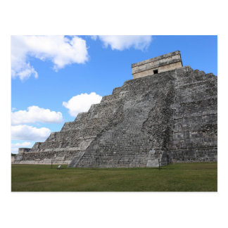 Chichen Itza Temple of Kukulcan south-west View Postcard