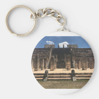 Chichen Itza Temple of the Warriors #2 Keychain