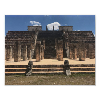 Chichen Itza Temple of the Warriors #2 Poster