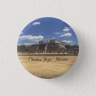 Chichen Itza Temple of the Warriors #4 Button