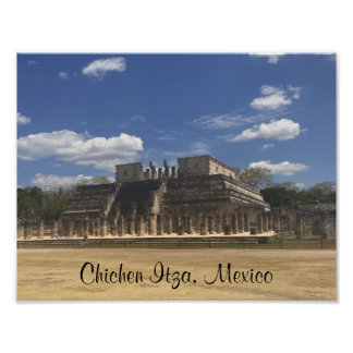 Chichen Itza Temple of the Warriors #4 Poster