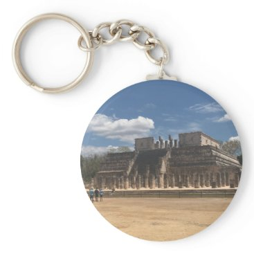 everydaylifesf Chichen Itza Temple of the Warriors Keychain