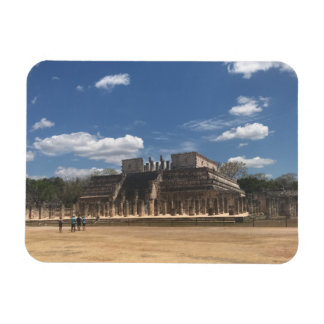 Chichen Itza Temple of the Warriors Photo Magnet