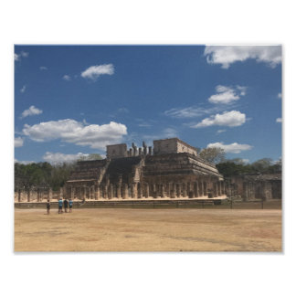 Chichen Itza Temple of the Warriors Poster