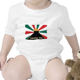 Chichen Itza Baby Bodysuit
