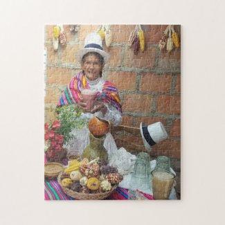 Chichera in Media Luna Peru Jigsaw Puzzle