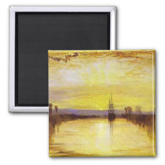 Chichester Canal 2 Inch Square Magnet