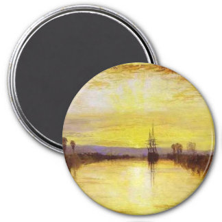 Chichester Canal 3 Inch Round Magnet