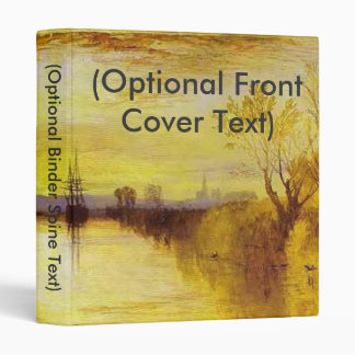 Chichester Canal 3 Ring Binder