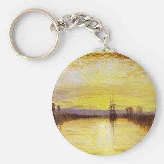 Chichester Canal Basic Round Button Keychain