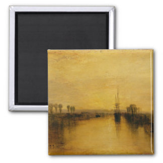 Chichester Canal, c.1829 2 Inch Square Magnet