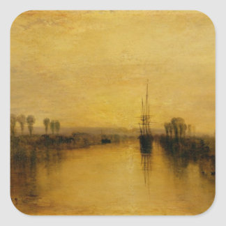 Chichester Canal, c.1829 Square Sticker