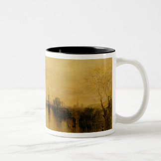 Chichester Canal, c.1829 Two-Tone Coffee Mug