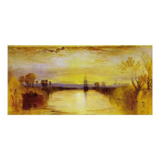 Chichester Canal Canvas Print