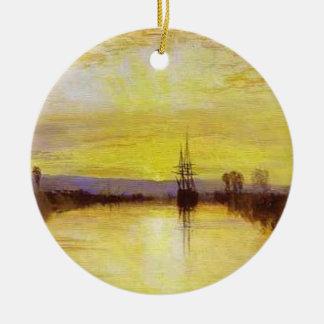 Chichester Canal Ceramic Ornament