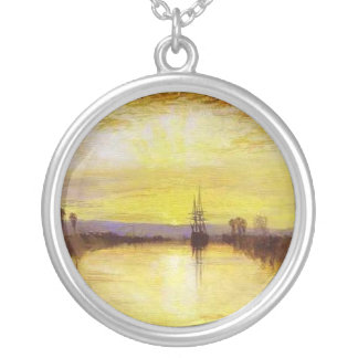 Chichester Canal Round Pendant Necklace