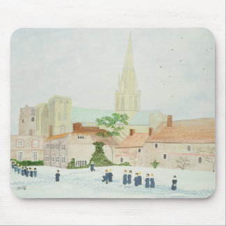 Chichester Cathedral and Visiting Choir Mouse Pad