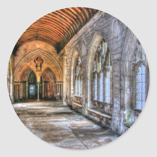 Chichester Cathedral Classic Round Sticker
