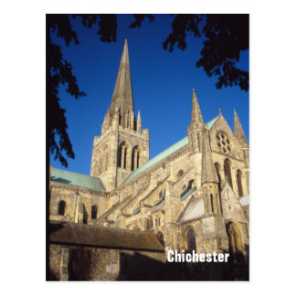 Chichester Cathedral postcard