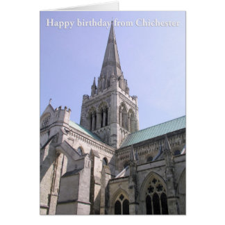 Chichester Cathedral, Sussex, UK Card