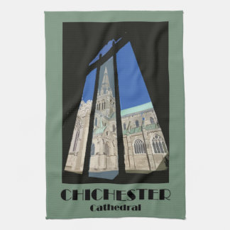 Chichester Cathedral teatowel Towel