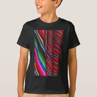 Chichicastanango Guatemalums Brightly coloured T-Shirt