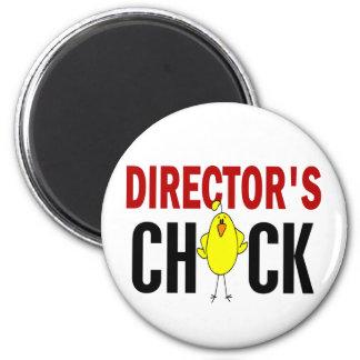 Chick 1 de director imán redondo 5 cm