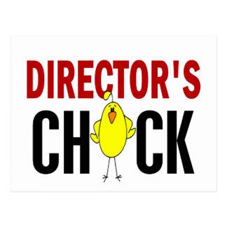 Chick 1 de director postales