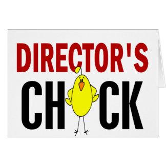Chick 1 de director felicitación