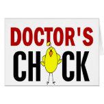 Chick 1 del doctor felicitaciones
