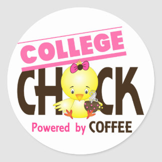 Chick 4 stickers