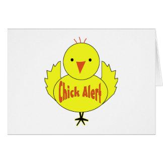 Chick Alert Card