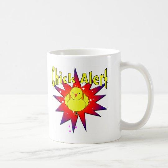 Chick Alert Coffee Mug
