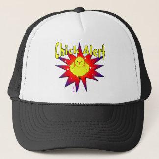 Chick Alert Trucker Hat