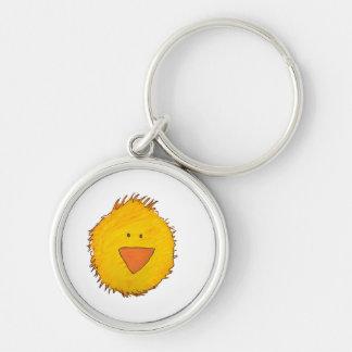 Chick Alone Keychain