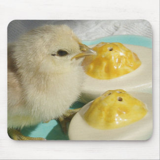Chick and Deviled Eggs 2 Mouse Pad