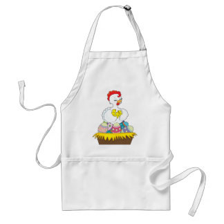 Chick and Eggs Adult Apron