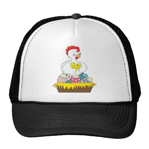 Chick and Eggs Trucker Hat