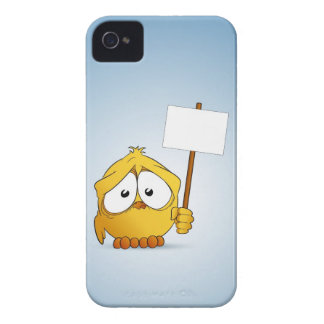 Chick and signboard iPhone 4 Case-Mate case