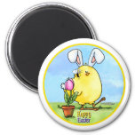 chick-bee-bunny-skybg12x12-easter-cp magnet