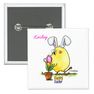 chick-bee-bunny-skybg12x12-easter-cp pin