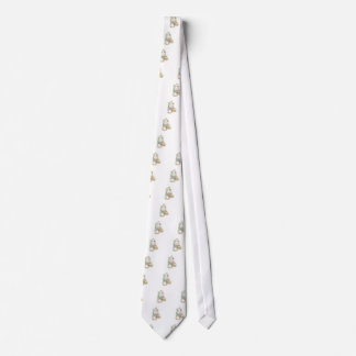 Chick, Butterfly & Eggs Vintage Easter Tie