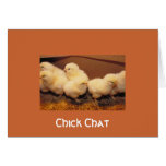 Chick Chat Card