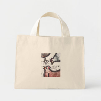 chick chick chick tote bags